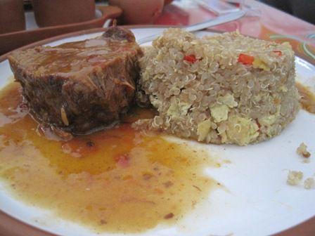 La comida novoandina for Comida francesa df