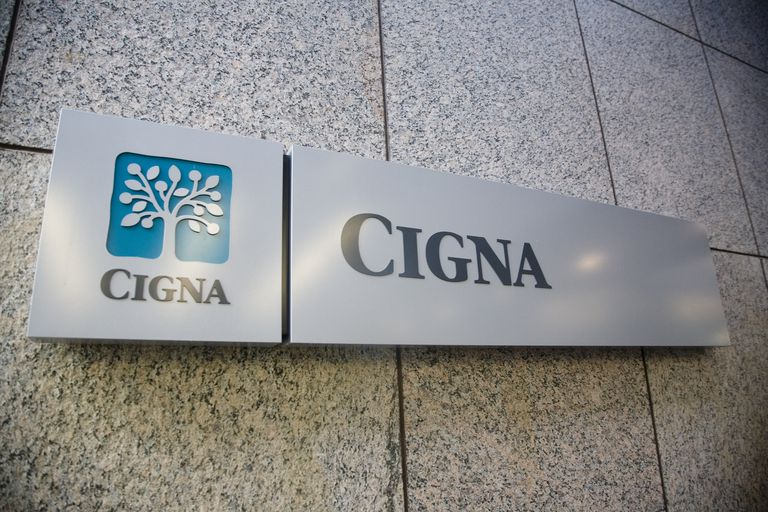 Cigna sign and logo