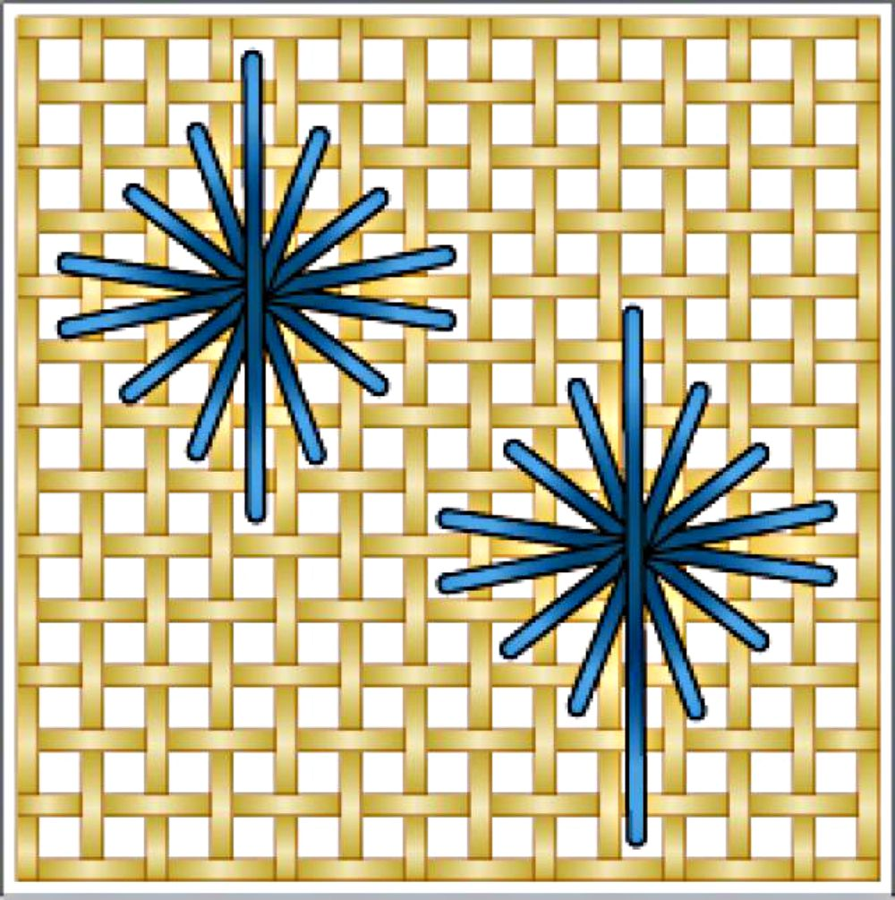 Learn the star embroidery stitch