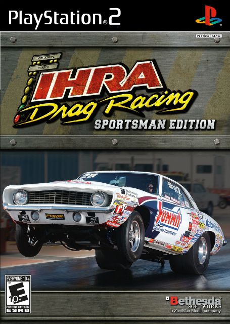 IHRA Drag Racing: Sportsman Edition Playstation 2