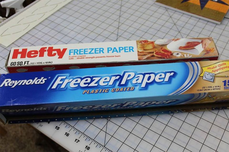 Freezer Paper for Quilters