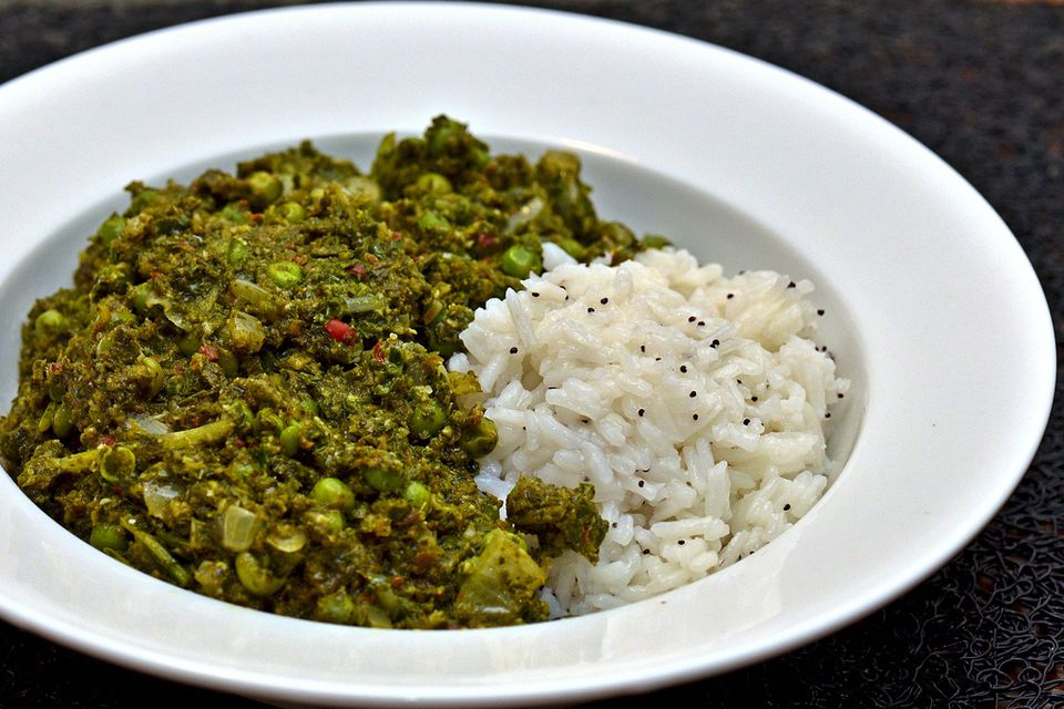 Vegan indian palak matar recipe forumfinder Choice Image