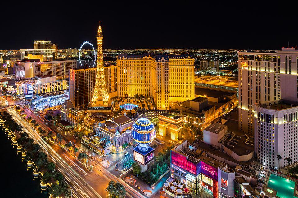 Premium Las Vegas Strip view from Cosmopolitan.