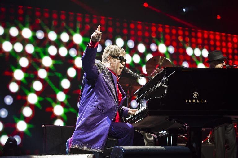 Elton John Performs In Berlin