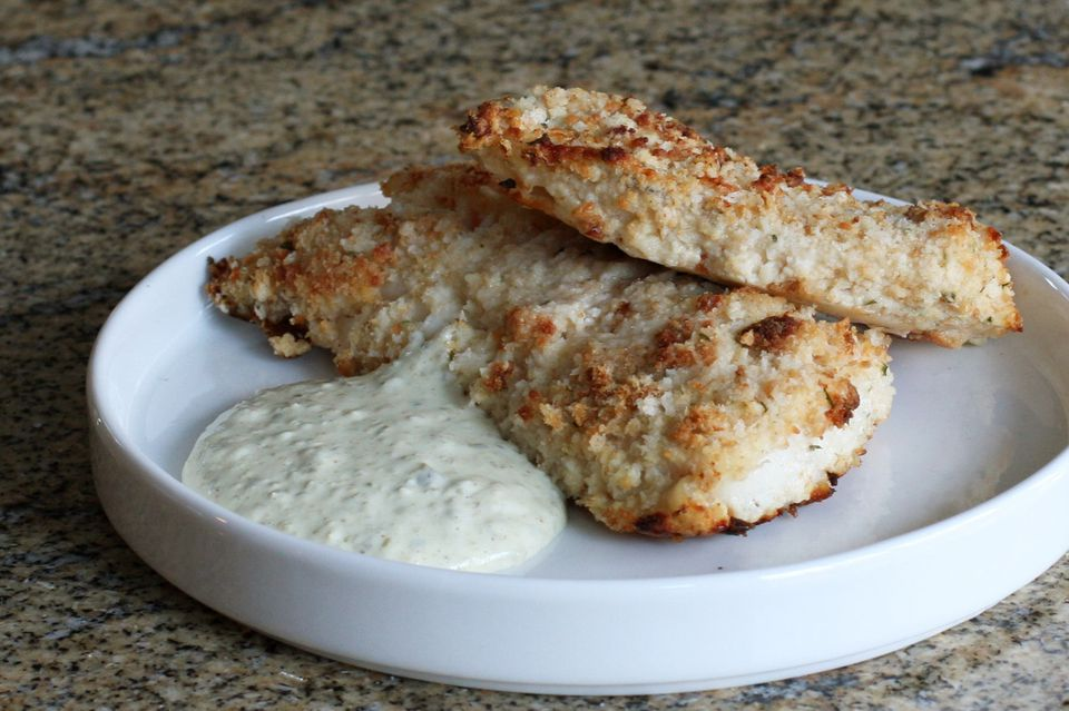 Oven Fried Fish Fillets