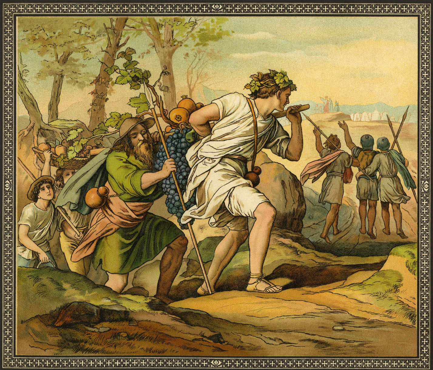 battle of jericho bible story and lessons