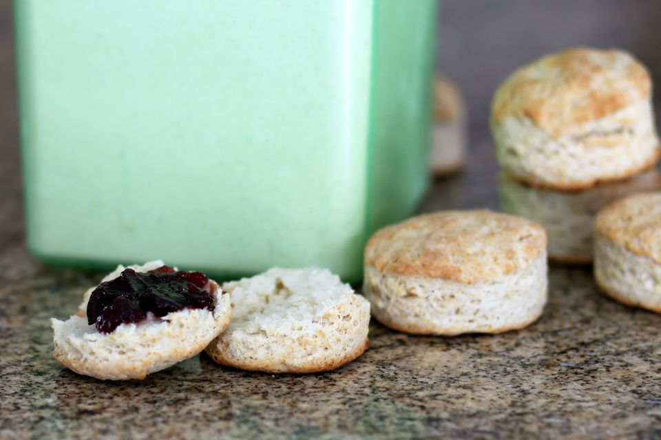 Biscuits Made with Baking Mix