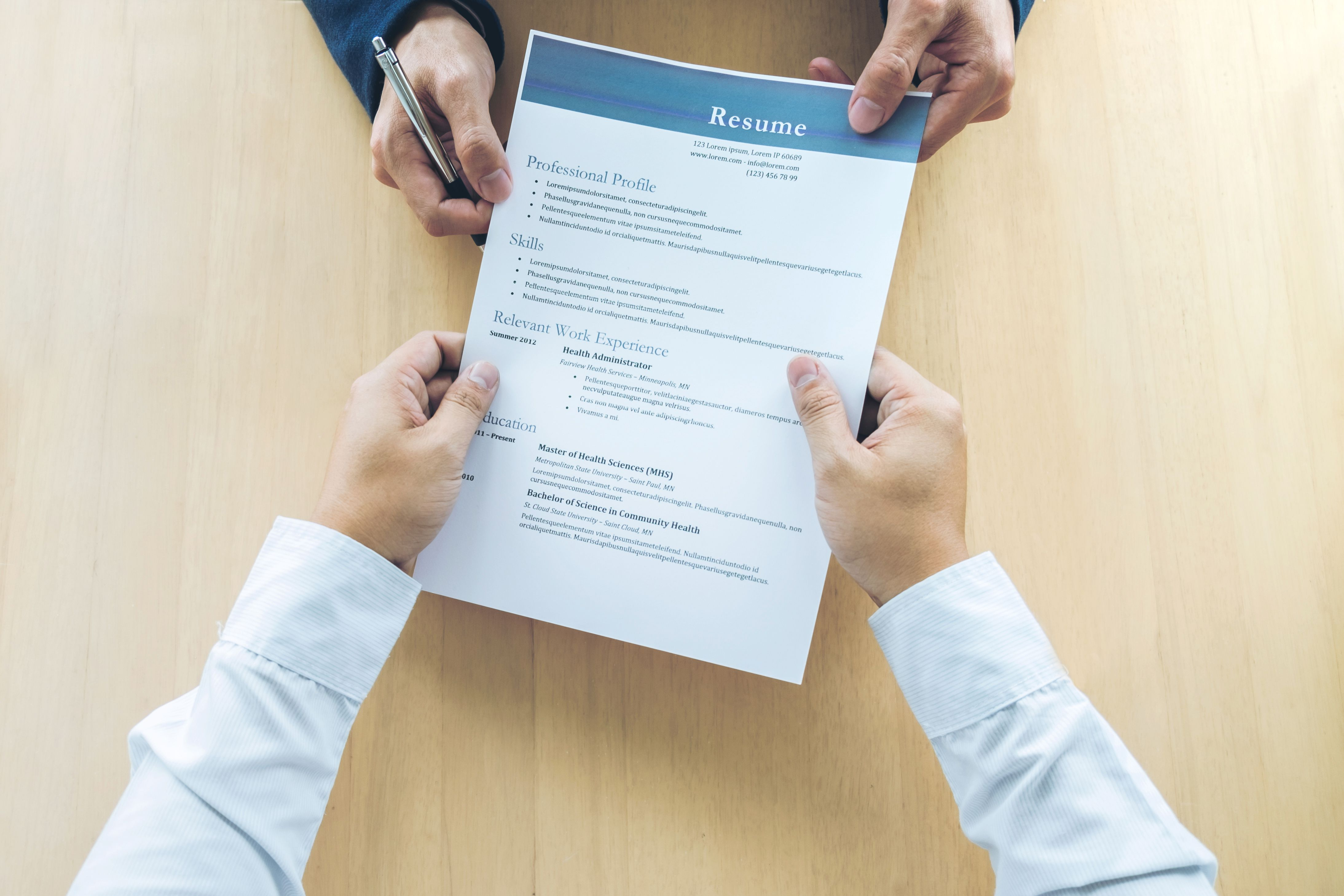 writing a resume profile Resume tips – 5 resume red flags resume writing laura gonzalez prospective employers may spend as little as six seconds looking at your resume to make an assessment of your abilities and to match those abilities to their job opening.