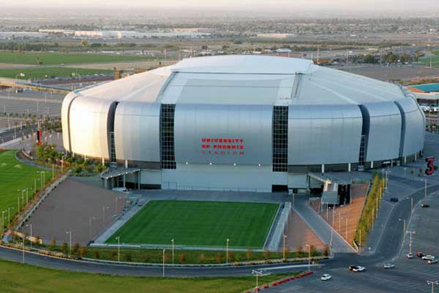 University of Phoenix Stadium in Glendale, AZ