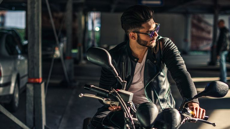 Biker with style