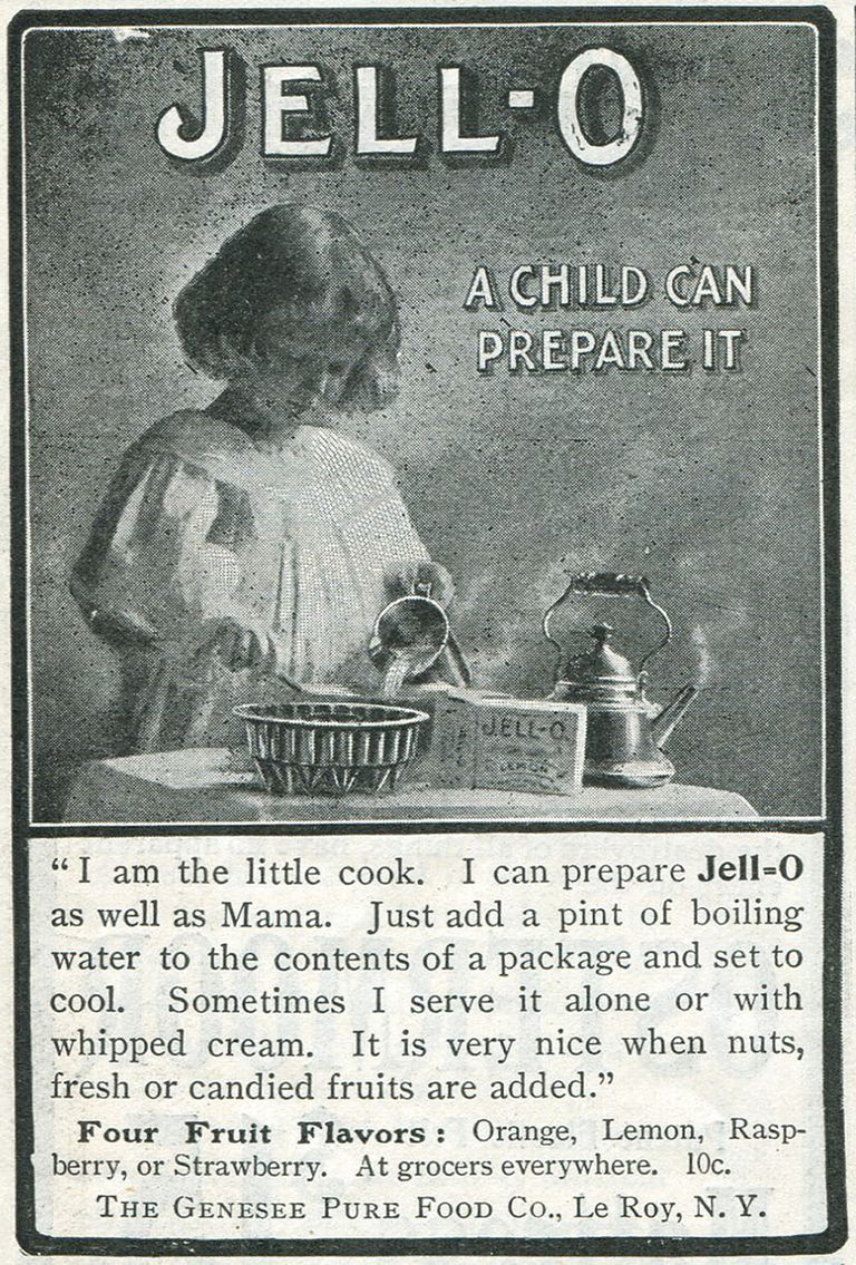 vintage advertisement for Jell-O