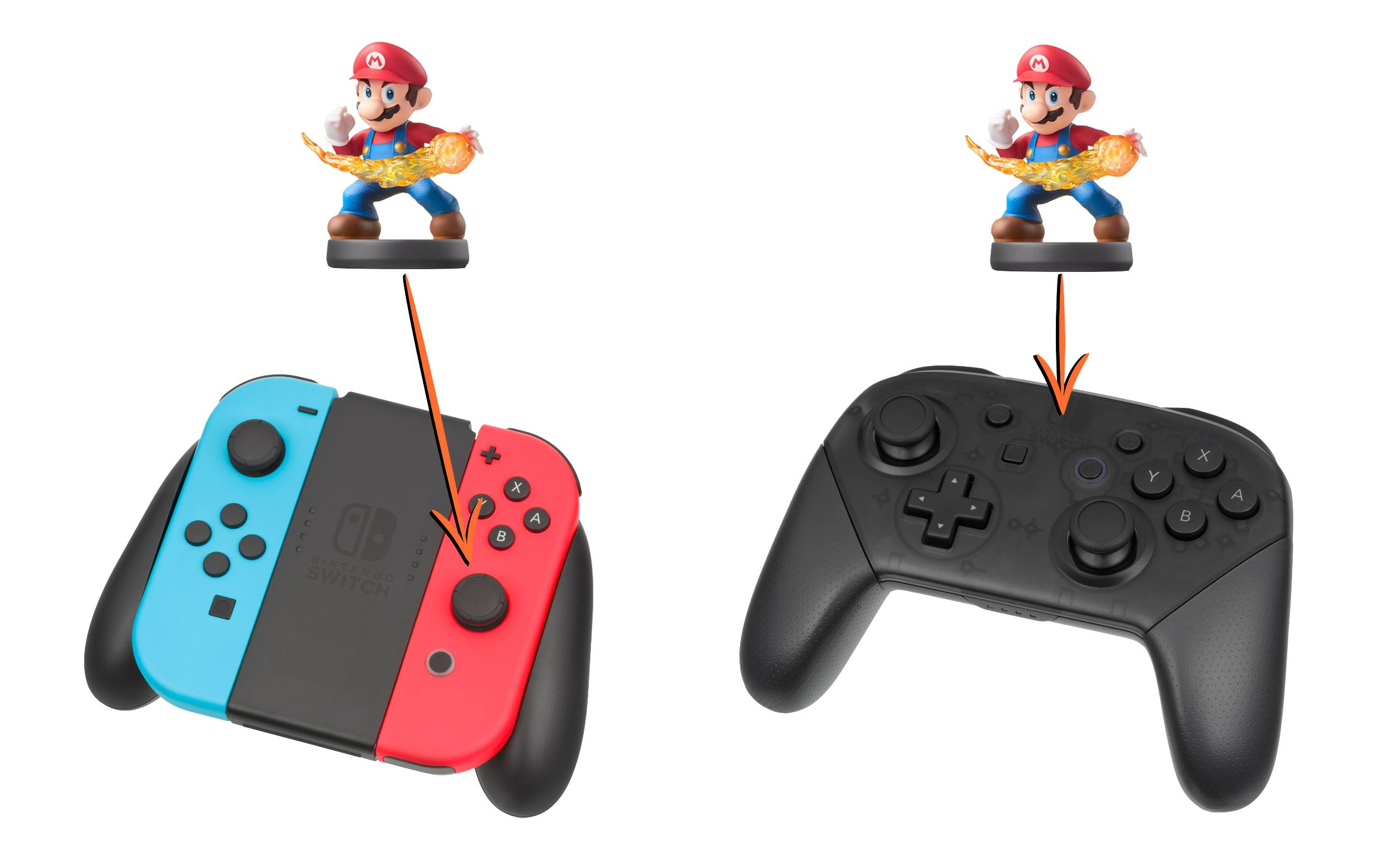how to scan an amiibo with nintendo switch