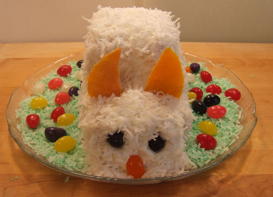 Easter Bunny Cake Photo By Carroll Pellegrinelli