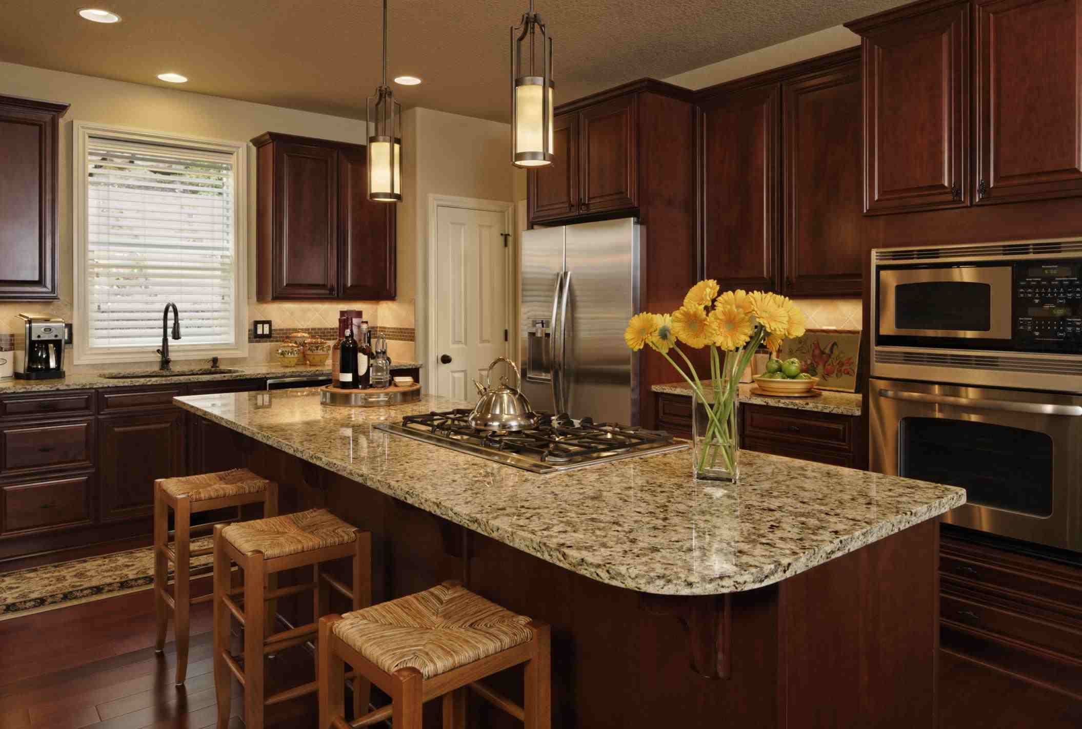 countertops kitchen granite it installed s options stone quartz installation white new countertop island see