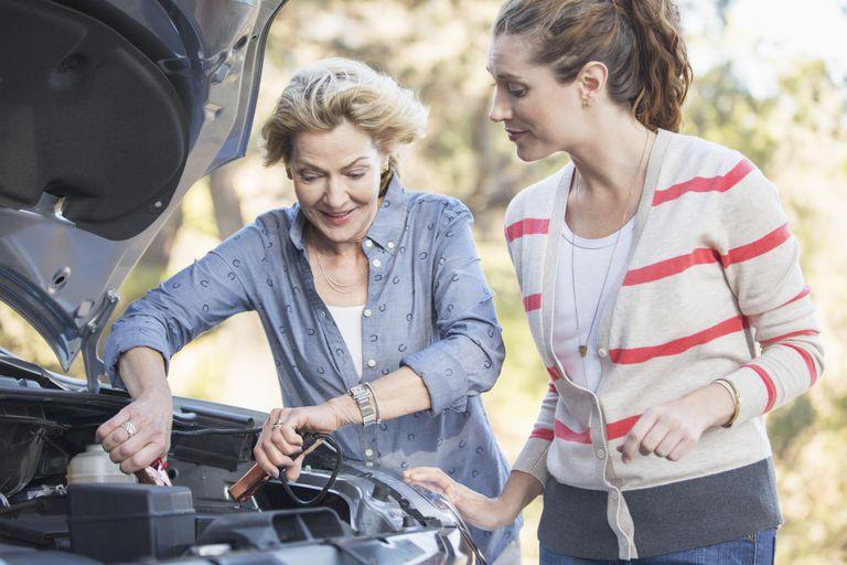 car battery charging