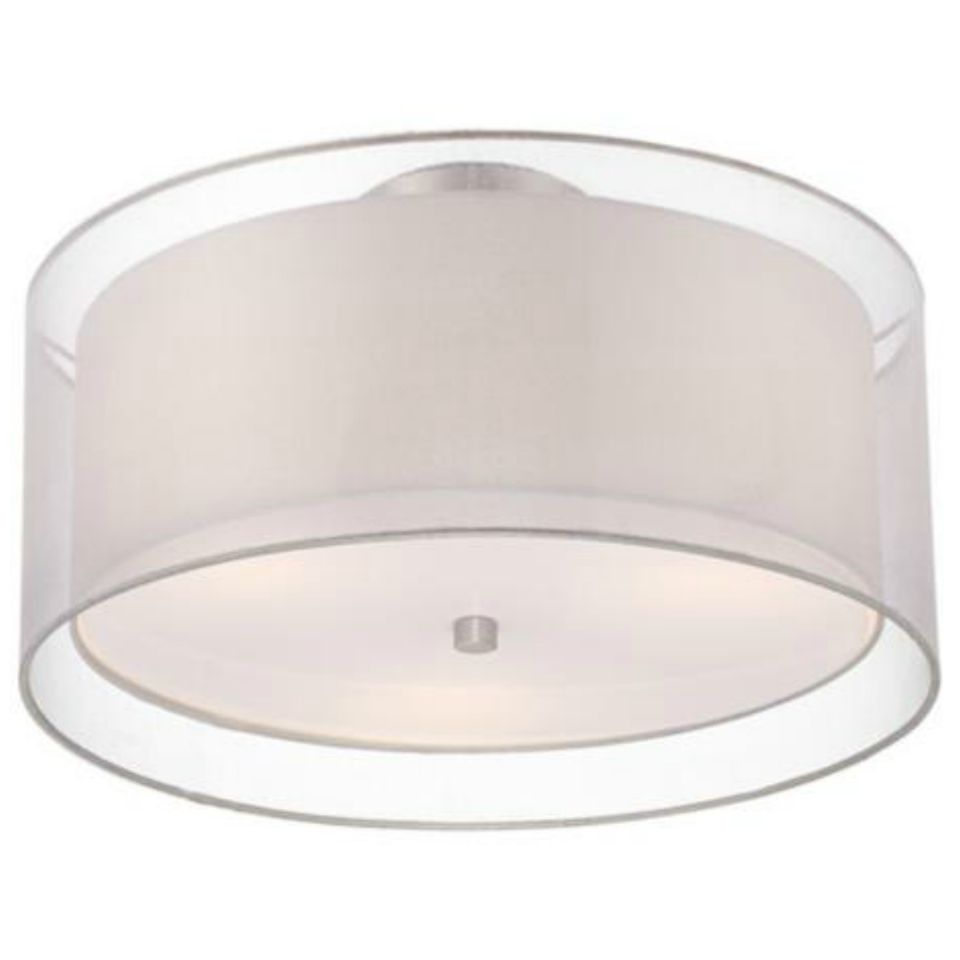 The best flush mount ceiling lights double drum ceiling lightg mozeypictures Gallery