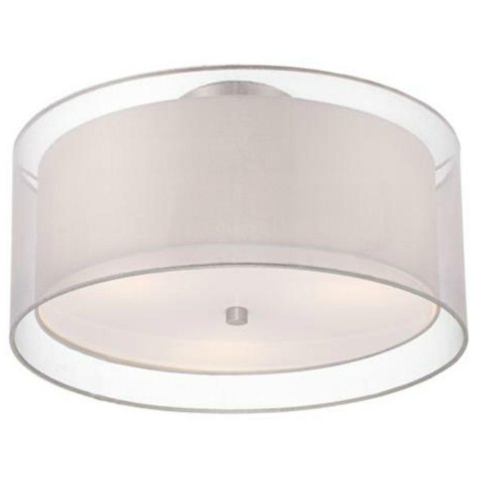 The best flush mount ceiling lights double drum ceiling lightg arubaitofo Image collections