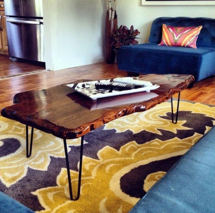DIY Live Edge Coffee Table