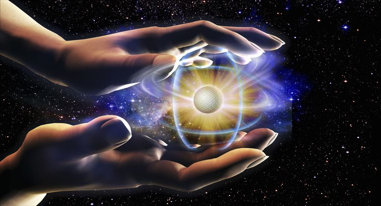 The universe is made up of atoms. The estimated number of atoms in the universe is based on the size of the known universe.