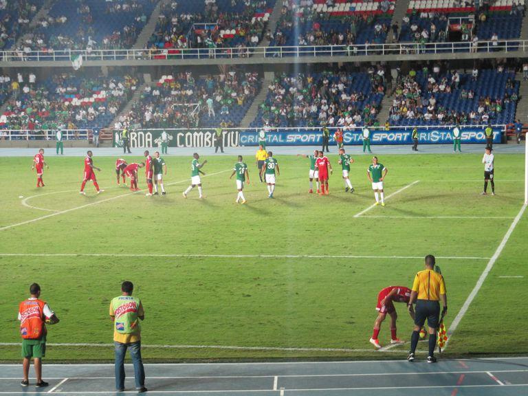 Partido entre el Glorioso Deportivo Cali y el américa, 2do ex-clásico de la Copa Colombia 2014 cuyo resultado fue un empate a 0.