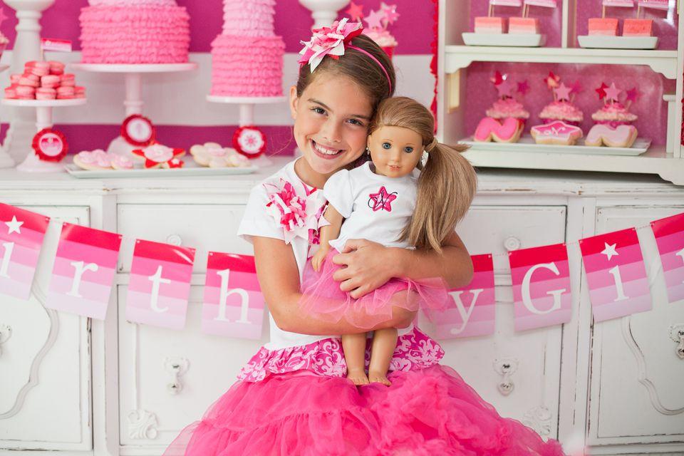 American Girl Birthday Day