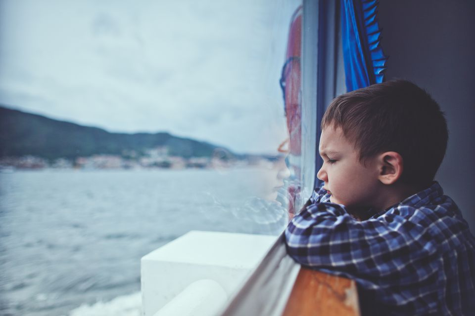 seasick boy