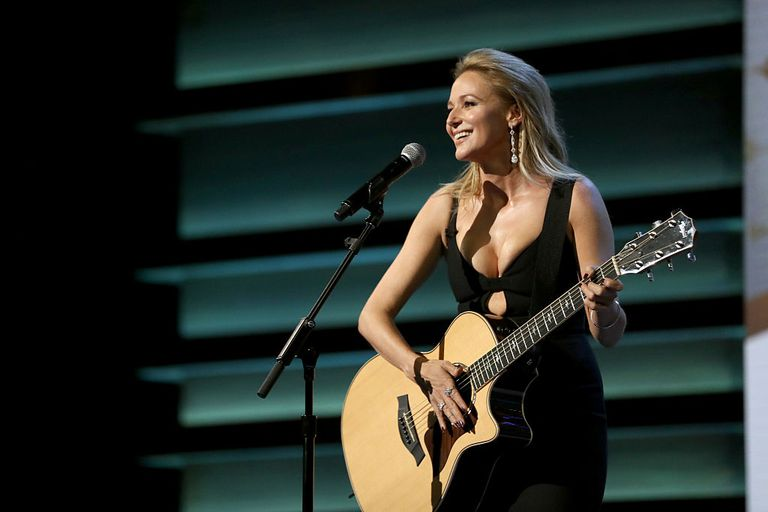 Songwriter and Lyricist Jewel performs