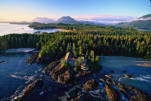 Wickaninnish Inn, a luxury resort and storm-watching destination