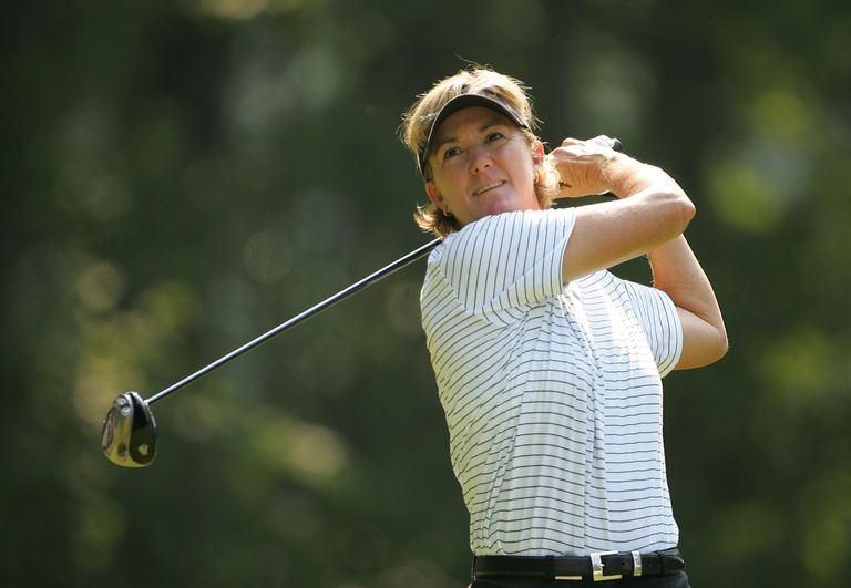 Beth Daniel during the 2004 US Women's Open