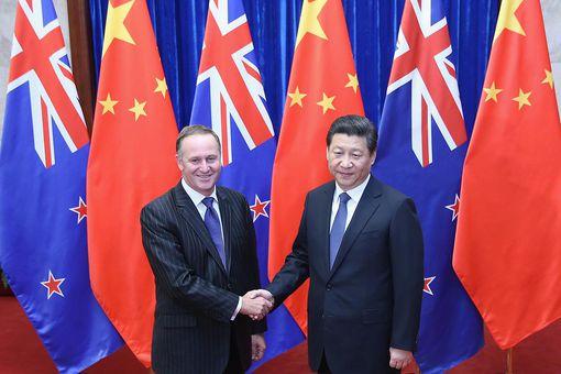New Zealand Prime Minister John Key Visits Beijing