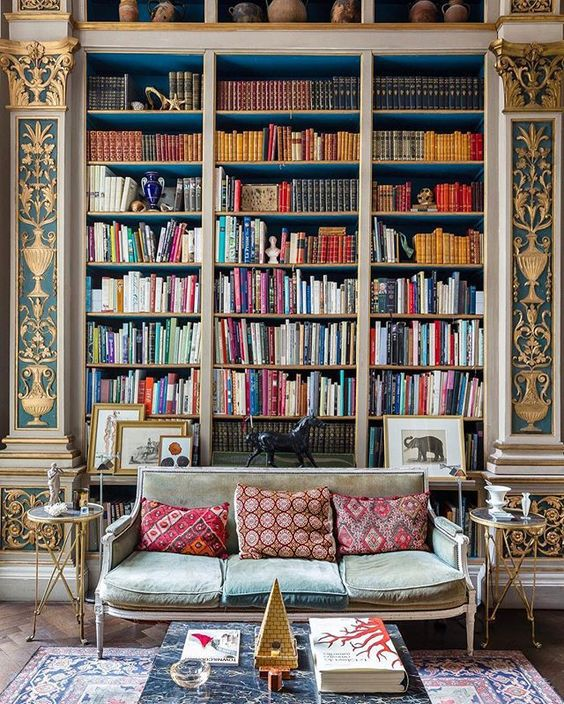 Home libraries 25 stunning design ideas for Classic home library
