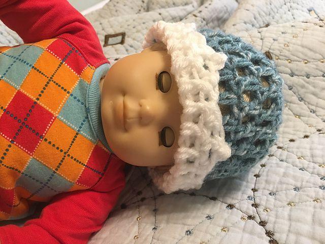 Crown Baby Hat Free Crochet Pattern