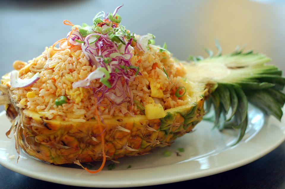 37 best vegetarianvegan and gluten free thai menu pineapple fried rice forumfinder Images