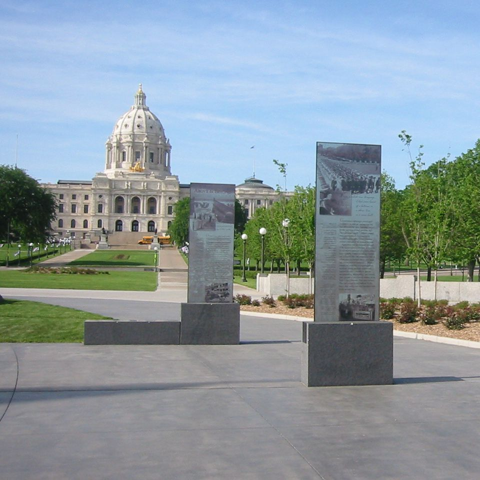 World War Two Memorial at Minnesota State Capitol