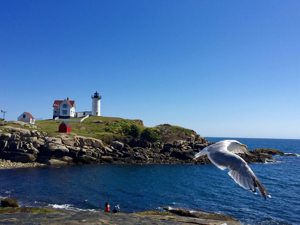 Cape Neddick Nubble Light in York Maine