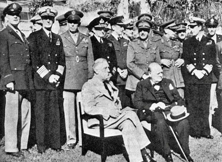 Casablanca Conference, 1943