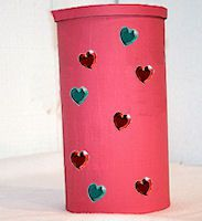 valentines day card collector can - How To Make Valentine Boxes