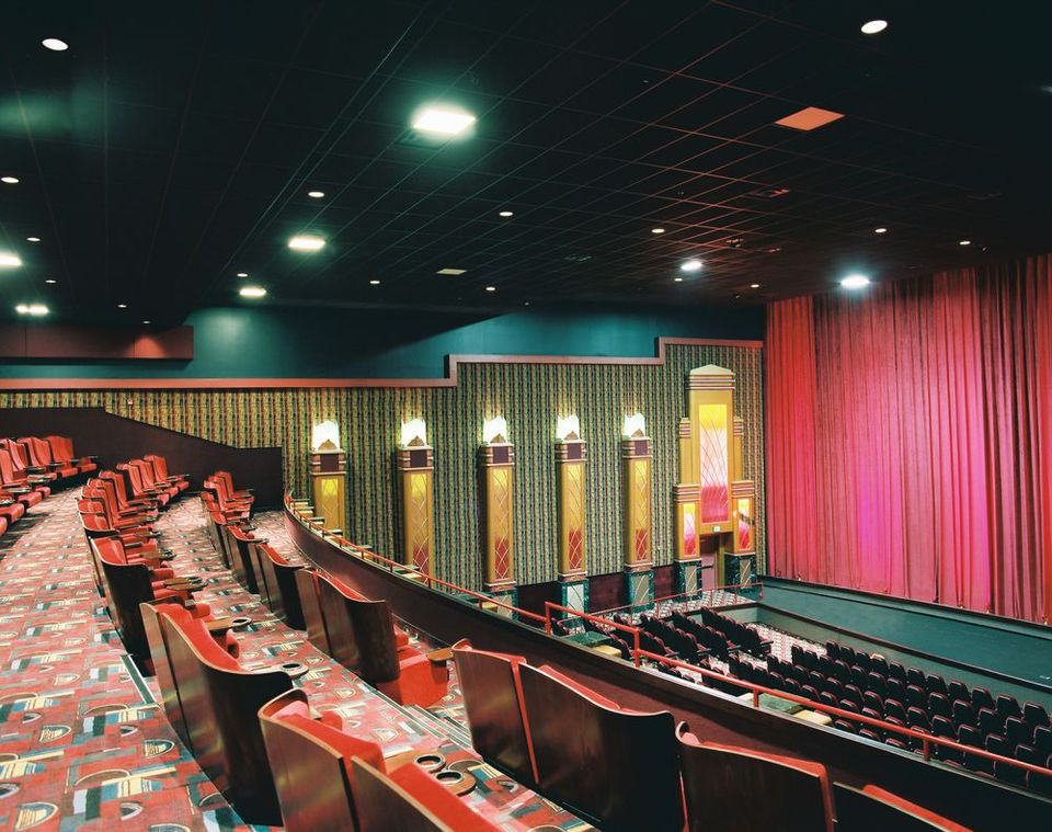 Moore Warren Movie Theatre