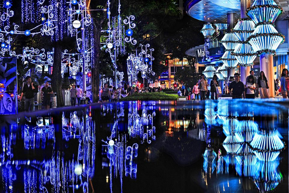 Orchard Road Christmas Lightup, Singapore