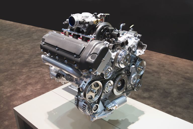 Engine displacement may be given in cubic inches or cubic centimeters.
