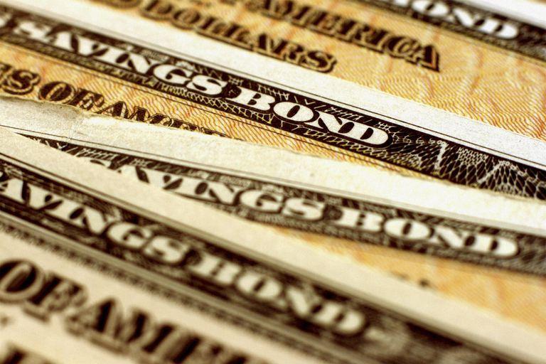 United States Treasury (EE Savings) Bond - Horizontal Close-Up