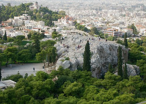 Areopagus From the Acropolis