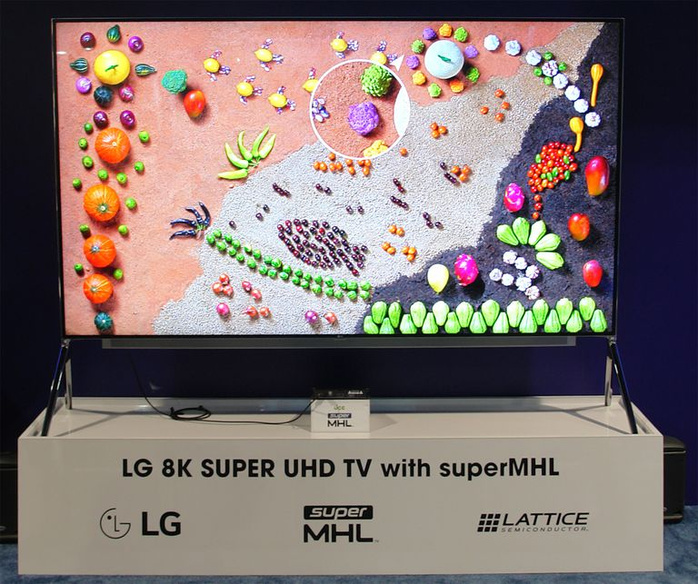 LG First To Bring 8K TV To Consumers With The 98UH9800