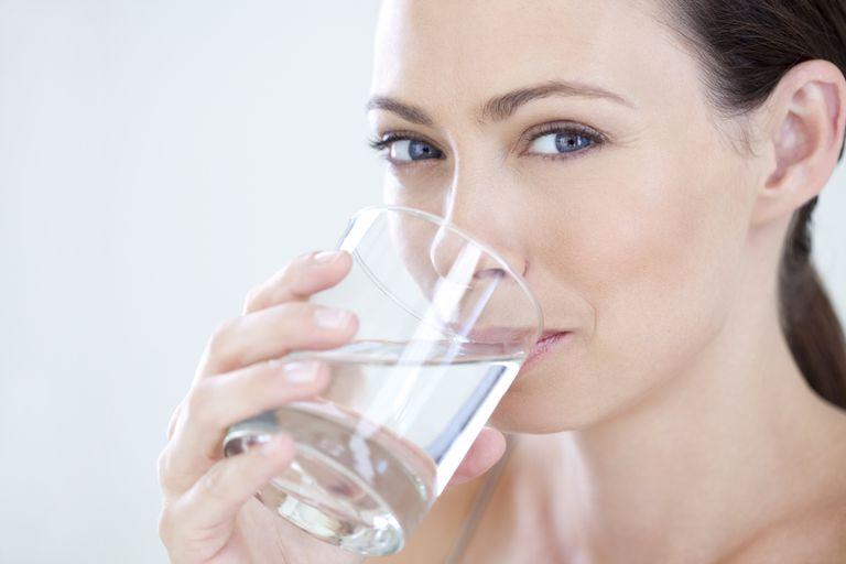 Es bueno beber agua