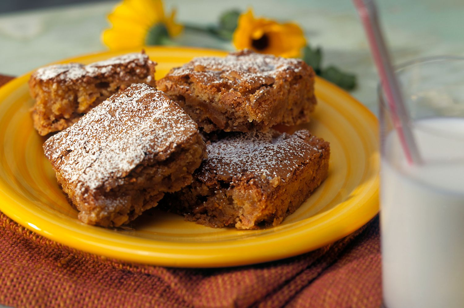 Try This Tasty Apple Brownies Recipe with Pecans