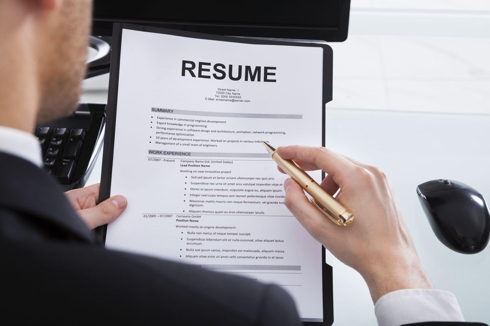 small resume