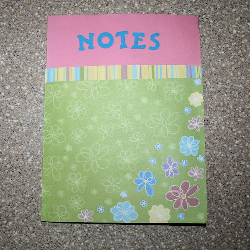 Paper Bag Book Cover Tutorial ~ How to make a paper bag book cover