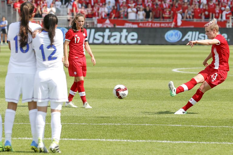 Costa Rica v Canada - Women's National Team - Exhibition Match