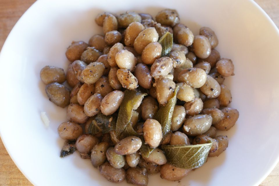 Shelling Beans With Sage