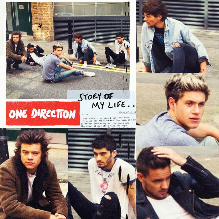 One Direction - Story Of My Life - Directlyrics